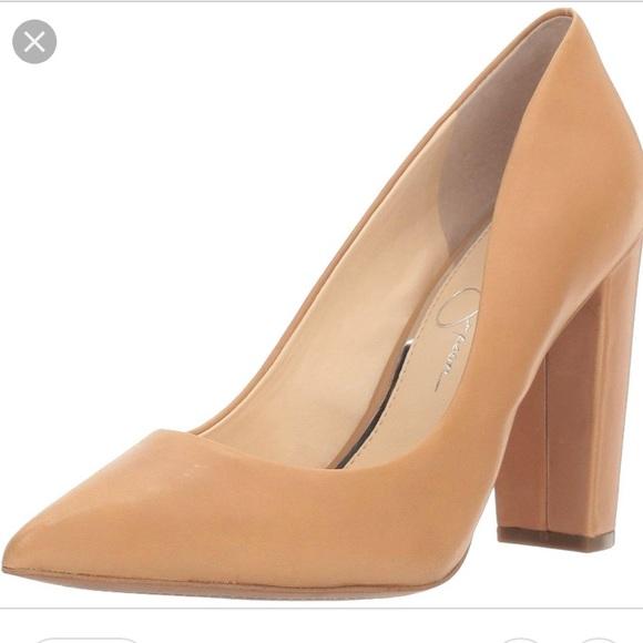 a7b28ebfdd Jessica Simpson Nude Tanysha Block Heel Pumps. M_5a8f5b6f5512fd179ba59d34